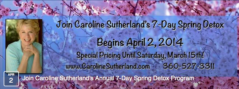 Caroline Sutherland, Internationally recognized Medical Intuitive, Health Expert, Radio Show Host & Hay House Author banner