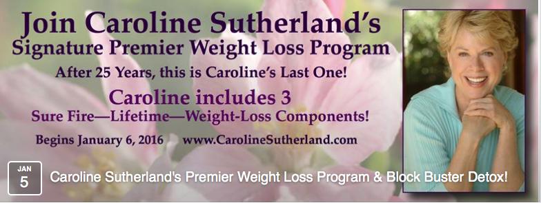Caroline Sutherland, Internationally recognized Medical Intuitive, Health Expert, Radio Show Host & Hay House Author banner