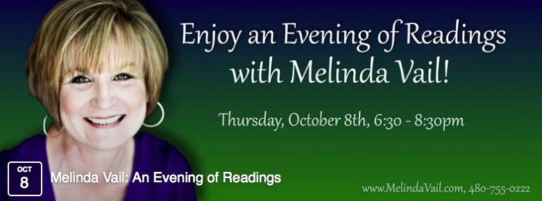 Melinda Vail, Evidential Medium & Intuitive Therapist, Author, Speaker, Radio & Television Personality banner
