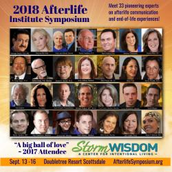 2018 Afterlife Institute Symposium graphic