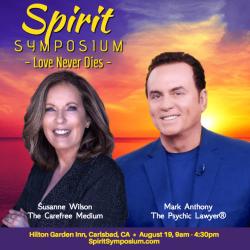 Spirit Symposium: Love Never Dies graphic