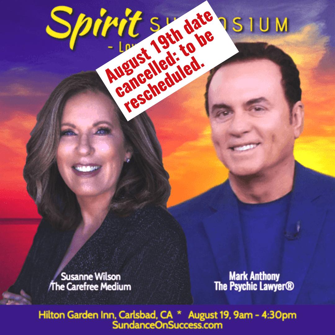 Spirit Symposium: Love Never Dies banner