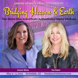 Bridging Heaven & Earth Featuring: Susanne Wilson & Tina Powers graphic