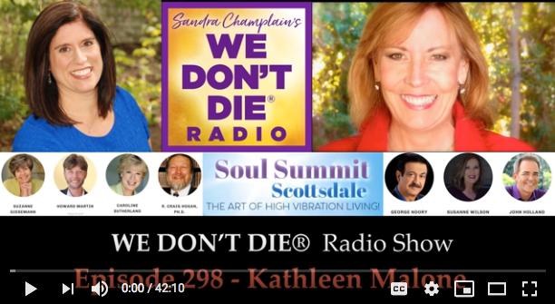 "Episode 298 Kathleen Malone – Co-Creator of the ""Soul Summit Scottsdale"" September 2019 banner"