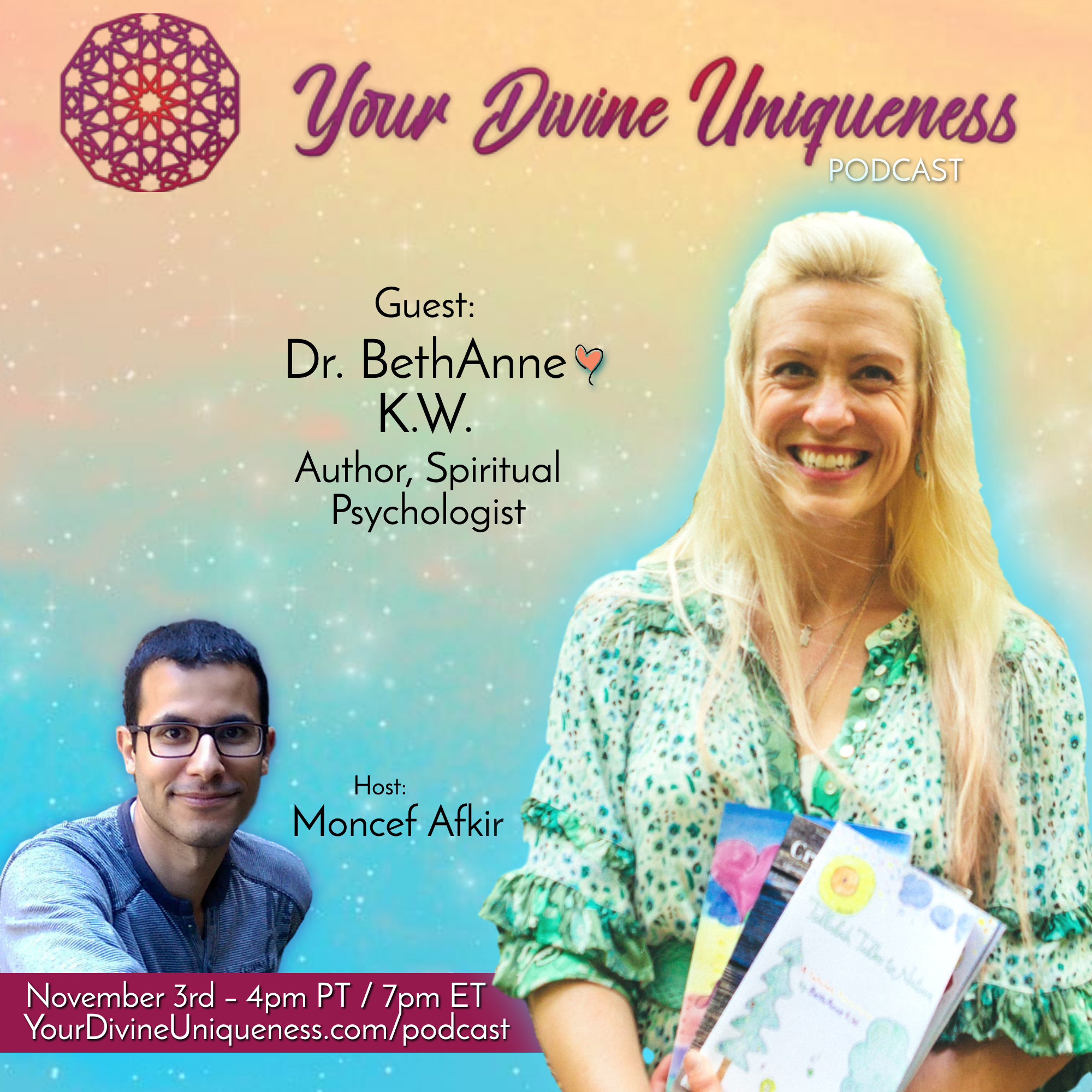Empowering Sacred Joy & Creativity w Dr. BethAnne, Intuitive Psychologist banner