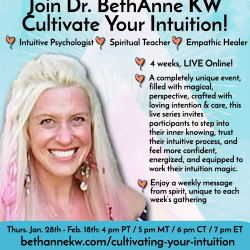 Cultivating Your Intuition: Four Weeks to Empower You! graphic