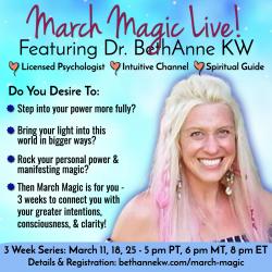'March Magic'                      Live Event Series graphic