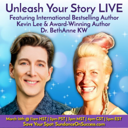 Unleash Your Story graphic
