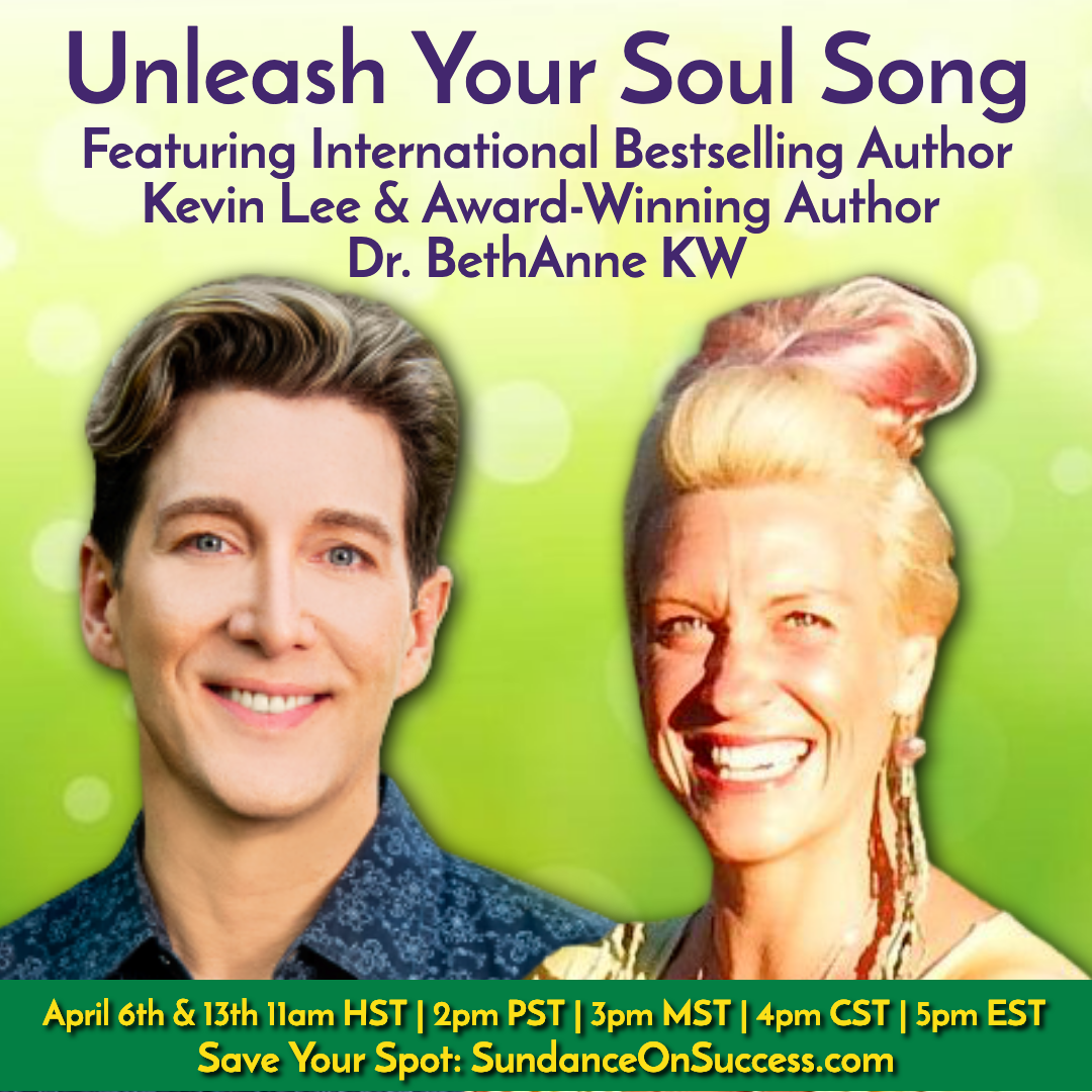 Write Your Soul Song ~ Create Your Legacy ~ Recordings Now Available! banner