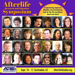 Afterlife Research & Education Symposium graphic