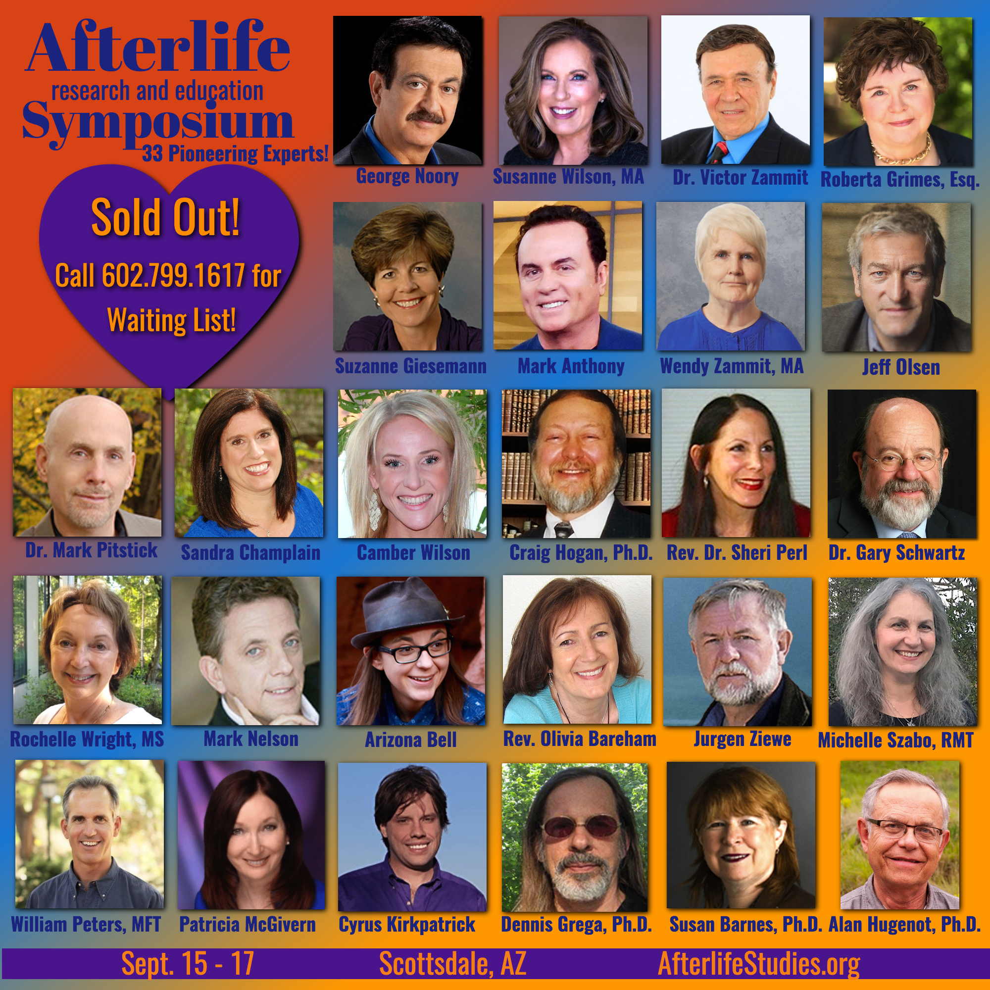 Afterlife Research & Education Symposium banner